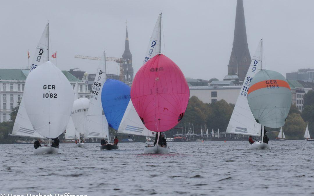 Aufregende Rennen bei der letzten Kielbootregatta im NRV