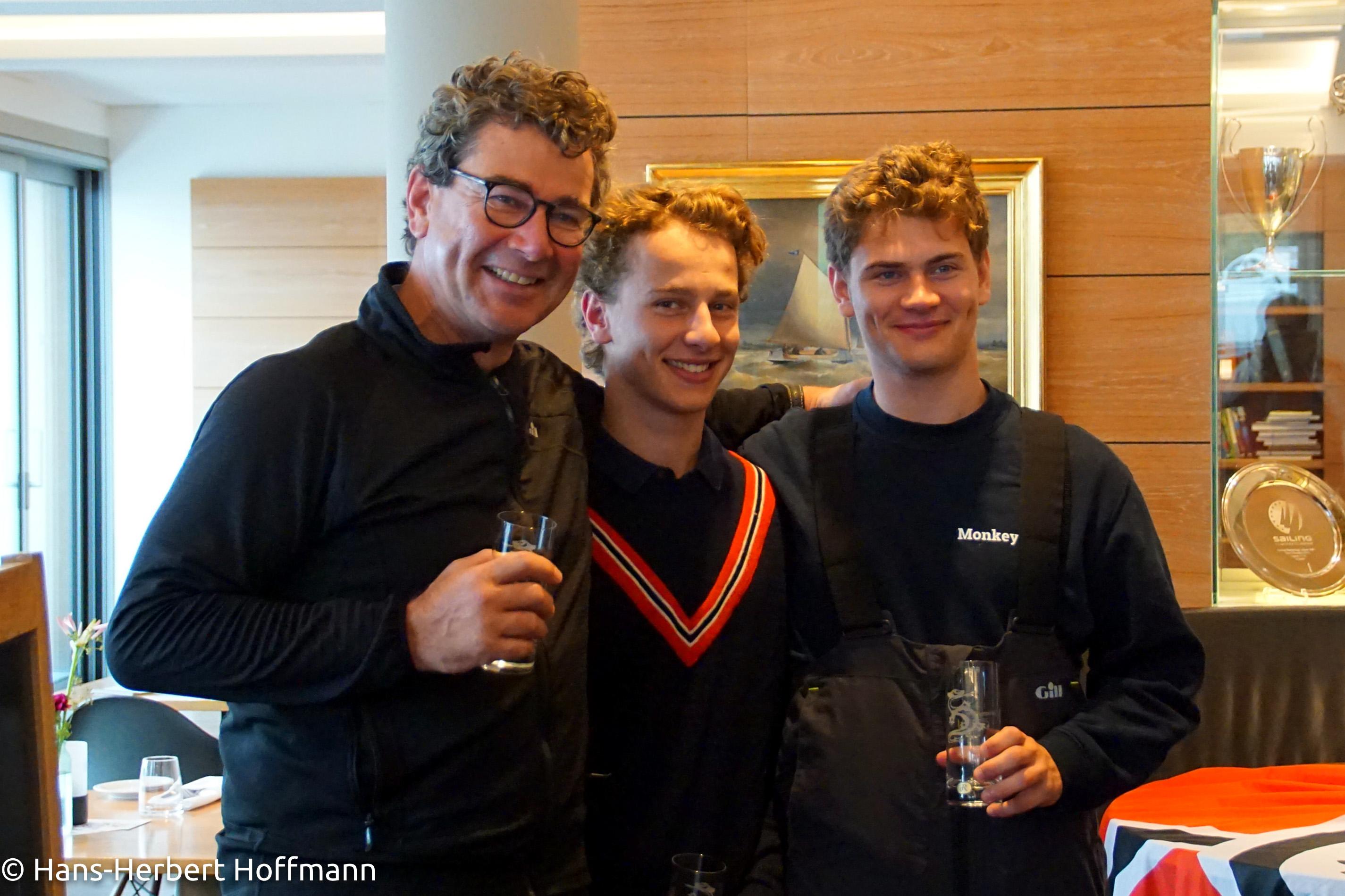 Platz 2 - Familie Imbeck Vater Torsten, Theo, Anton.