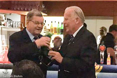 Rainer Blohm und Günther Kordts