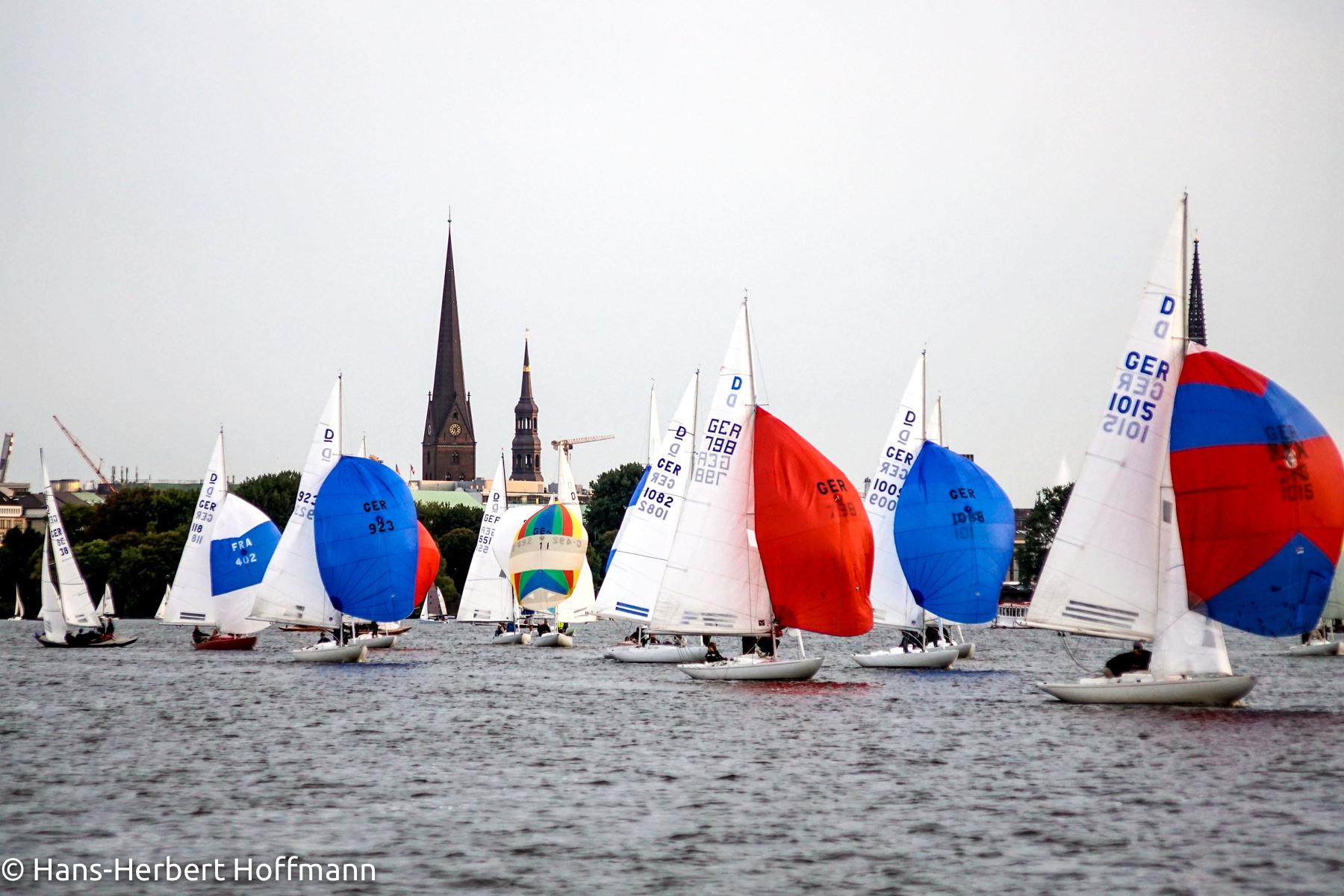 Saisonabschluss Trainingsregatten Alster 4